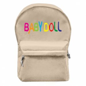 Backpack with front pocket Baby doll