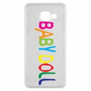 Etui na Samsung A3 2016 Baby doll
