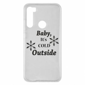 Xiaomi Redmi Note 8 Case Baby it's cold outside