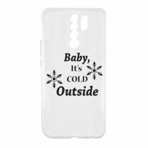 Etui na Xiaomi Redmi 9 Baby it's cold outside