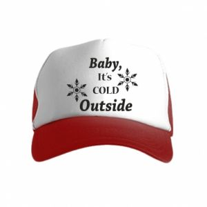 Czapka trucker dziecięca Baby it's cold outside