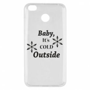 Etui na Xiaomi Redmi 4X Baby it's cold outside