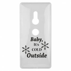 Sony Xperia XZ2 Case Baby it's cold outside