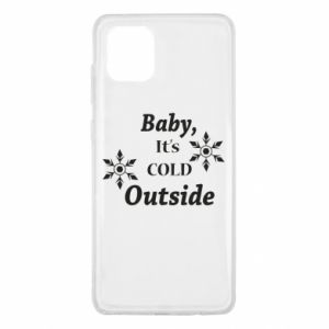 Samsung Note 10 Lite Case Baby it's cold outside