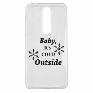 Nokia 5.1 Plus Case Baby it's cold outside
