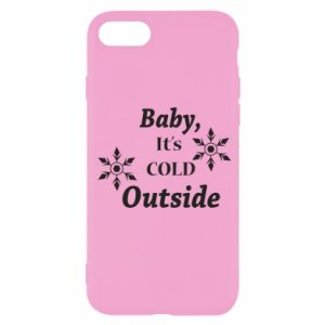 iPhone SE 2020 Case Baby it's cold outside
