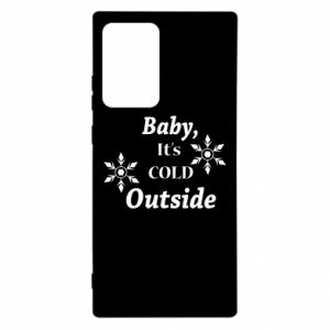 Etui na Samsung Note 20 Ultra Baby it's cold outside