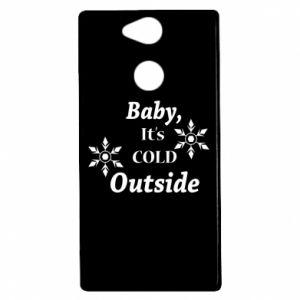 Etui na Sony Xperia XA2 Baby it's cold outside