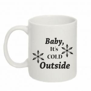 Mug 330ml Baby it's cold outside