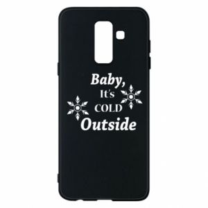 Samsung A6+ 2018 Case Baby it's cold outside