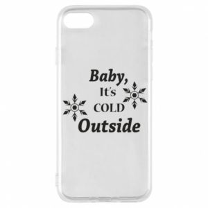 iPhone 8 Case Baby it's cold outside