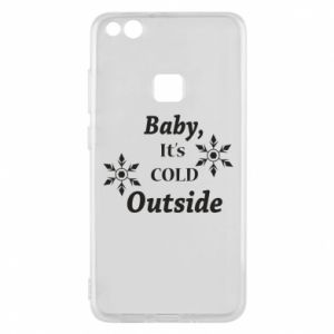 Huawei P10 Lite Case Baby it's cold outside
