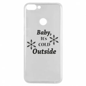 Huawei P Smart Case Baby it's cold outside