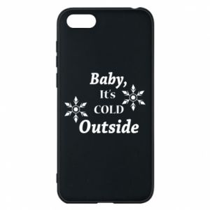 Huawei Y5 2018 Case Baby it's cold outside