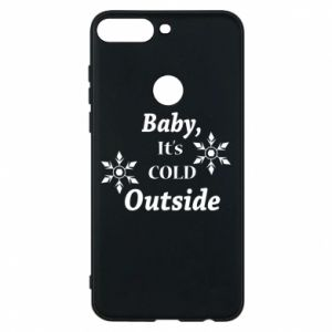 Huawei Y7 Prime 2018 Case Baby it's cold outside
