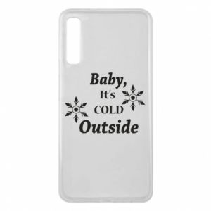 Samsung A7 2018 Case Baby it's cold outside