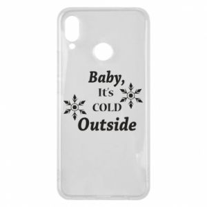 Huawei P Smart Plus Case Baby it's cold outside