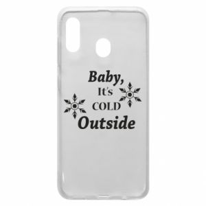 Samsung A20 Case Baby it's cold outside