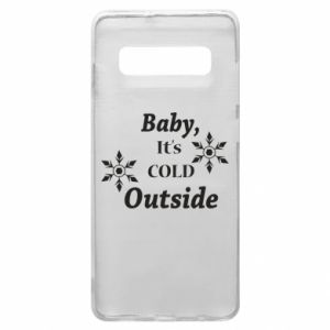 Samsung S10+ Case Baby it's cold outside