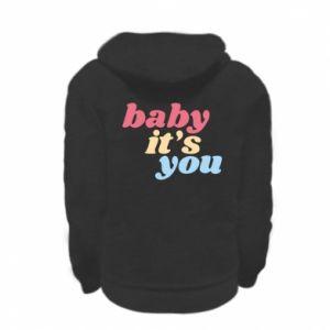 Bluza na zamek dziecięca Baby it's you
