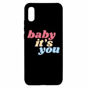 Etui na Xiaomi Redmi 9a Baby it's you