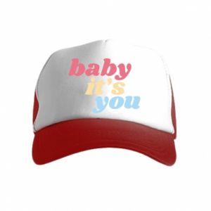 Czapka trucker dziecięca Baby it's you