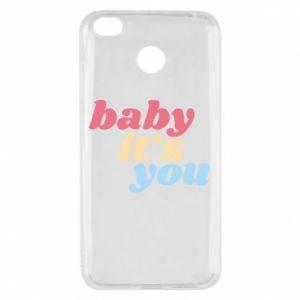 Etui na Xiaomi Redmi 4X Baby it's you
