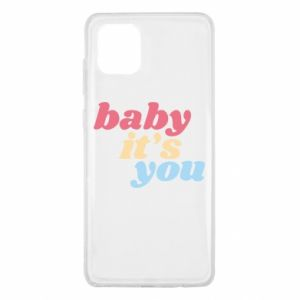 Etui na Samsung Note 10 Lite Baby it's you