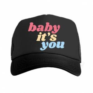 Czapka trucker Baby it's you