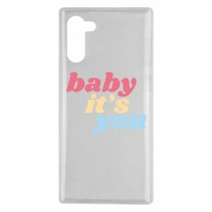 Etui na Samsung Note 10 Baby it's you