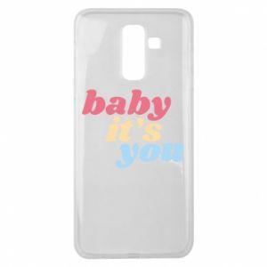 Etui na Samsung J8 2018 Baby it's you