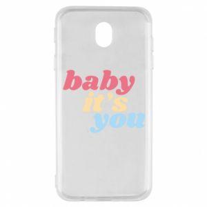 Etui na Samsung J7 2017 Baby it's you