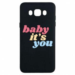 Etui na Samsung J7 2016 Baby it's you