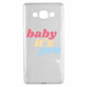 Etui na Samsung A5 2015 Baby it's you