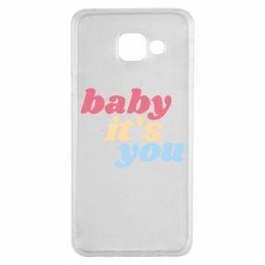 Etui na Samsung A3 2016 Baby it's you