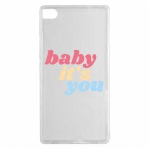Etui na Huawei P8 Baby it's you