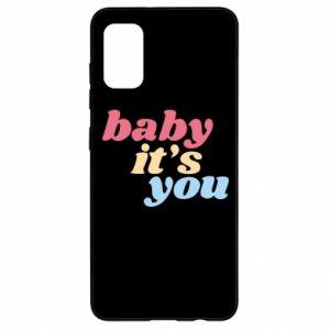 Etui na Samsung A41 Baby it's you