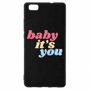 Etui na Huawei P 8 Lite Baby it's you