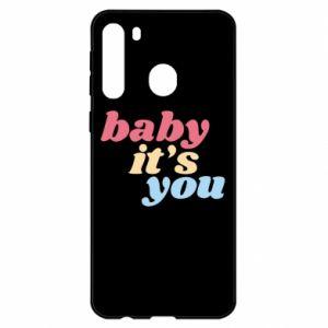 Etui na Samsung A21 Baby it's you