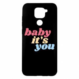 Etui na Xiaomi Redmi Note 9/Redmi 10X Baby it's you