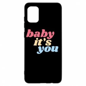 Etui na Samsung A31 Baby it's you
