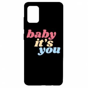 Etui na Samsung A51 Baby it's you