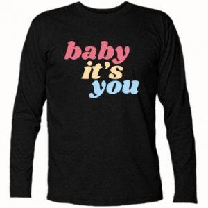 Koszulka z długim rękawem Baby it's you