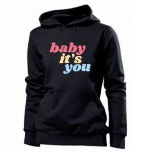 Bluza damska Baby it's you