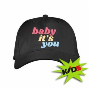 Dziecięca czapeczka z daszkiem Baby it's you