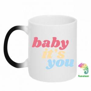 Kubek-kameleon Baby it's you