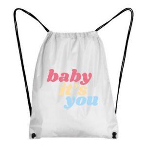 Plecak-worek Baby it's you