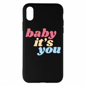 Etui na iPhone X/Xs Baby it's you