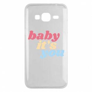 Etui na Samsung J3 2016 Baby it's you