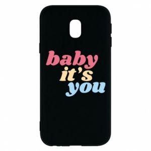 Etui na Samsung J3 2017 Baby it's you